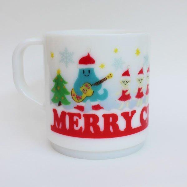 ゴンガリガリのオリジナルクリスマスマグ!電子レンジも使用できます。